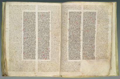 DÉCRÉTALES DES PAPES Italie 1280-1340, Décrétales,...