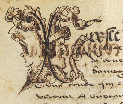Terrier de Collonges la Magdeleine Autunois, 1530