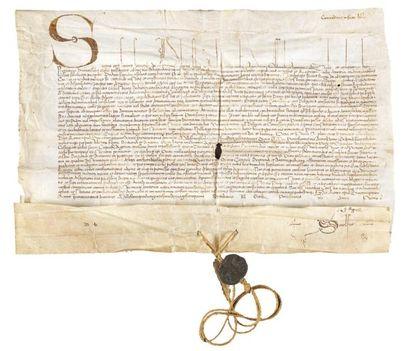 Sixte IV pour Saint Caprais d'Agen, 1471