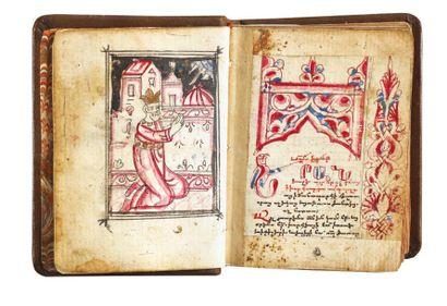 Psautier 1584 Psautier arménien illustré,...