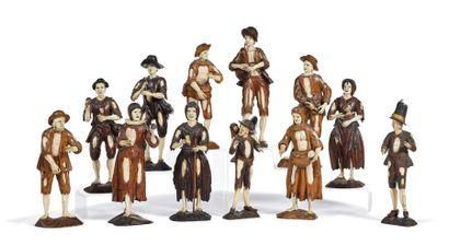 Suiveur de Simon TROGER (1693-1768) Ensemble...