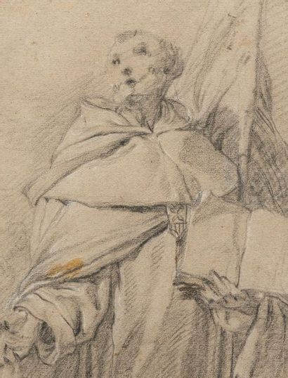 Attribué à Francesco MONTI (1683-1768) Portrait...