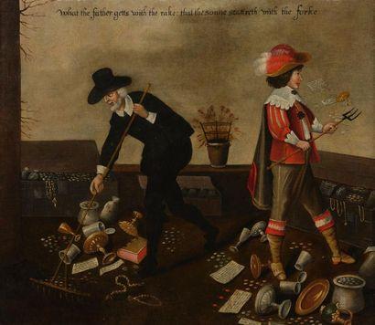 Ecole ANGLAISE de la fin du XVIIème siècle...