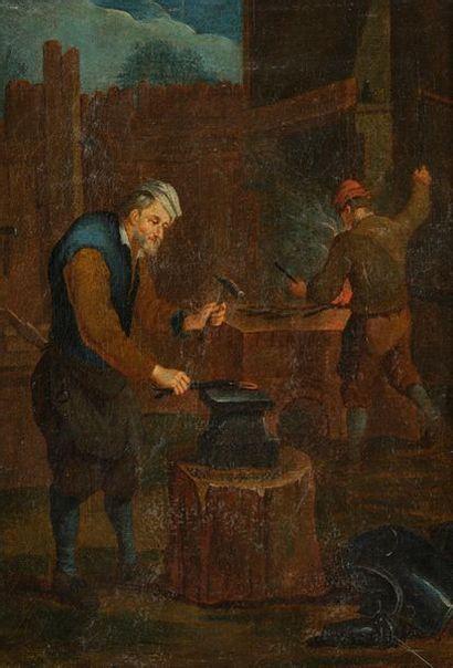 Attribué à Jan Josef HOREMANS (1682 - 1759)...