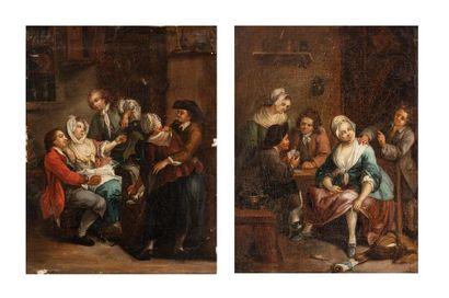 Ecole FRANCAISE vers 1800, suiveur de Pierre...