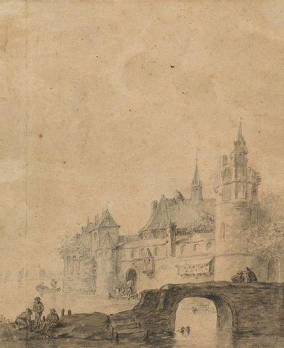 Esaias Van De Velde (suiveur de) Paysage...