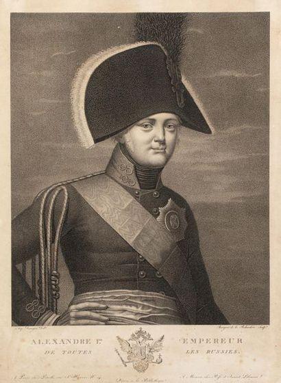 DESNOYERS Auguste (1779-1857), d'après. Alexandre...