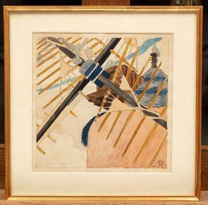 Pierre ROY (Nantes 1880-Bergame 1950) Pierre ROY (Nantes 1880-Bergame 1950) Les moulins...