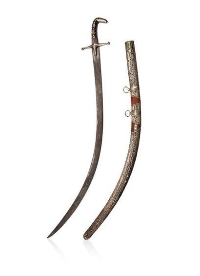 Shamshir Sabre Moyen Orient, XIXe siècle...