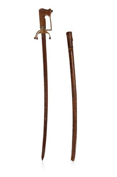 Nimcha Maroc, début du XIXe siècle Epée à...