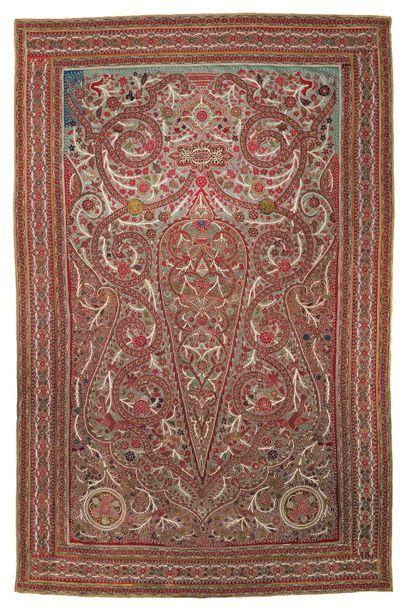 Grand rachti au cyprès Iran, XIXe siècle...