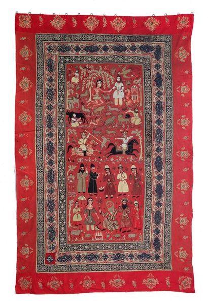 Deux rachtis douzis Iran, XIXe siècle En...