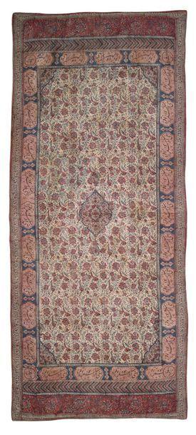 Kalamkar Iran 19e siècle Tenture en coton...