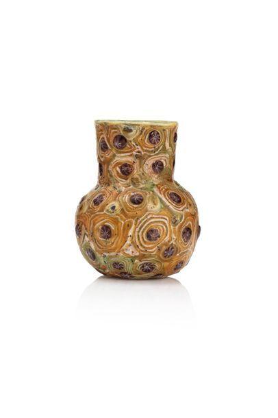 Vase millefiori Probablement Syrie, VIIIe-IXe...