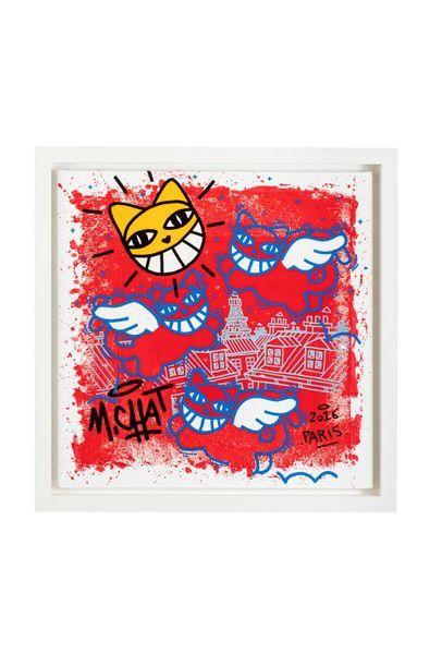 MR Cat (born 1977) Untitled, 2016 Acrylic...