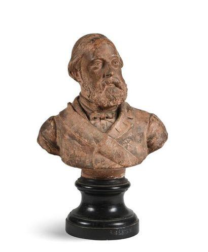 Henri V, comte de Chambord. Buste figurant...
