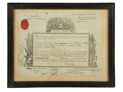 Premier bataillon du 4e Régiment d'infanterie...