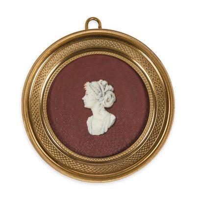 Pauline Bonaparte. Portrait miniature figurant probablement la princesse Pauline...
