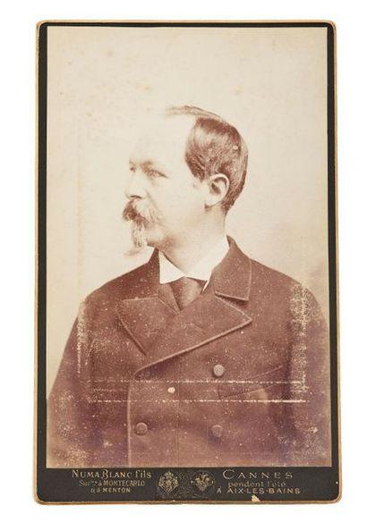 Comte de Paris Grand portrait photographique...