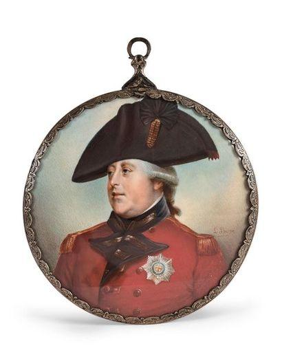 SHARPE Louisa (1800-1843). Portrait du roi...