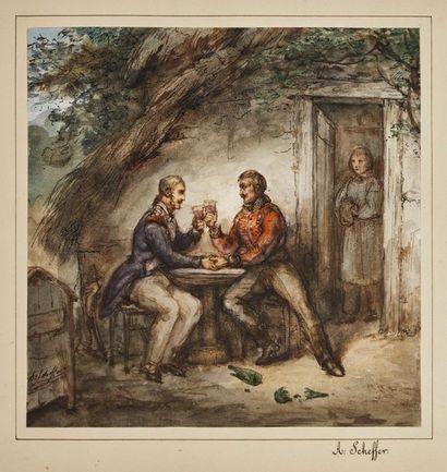 SCHEFFER Ary (Dordrecht, 1795 - Argenteuil,...