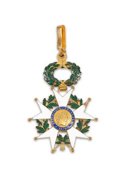 France Croix de commandeur de l'ordre de...