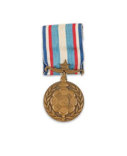 Corée Médaille commémorative française des...