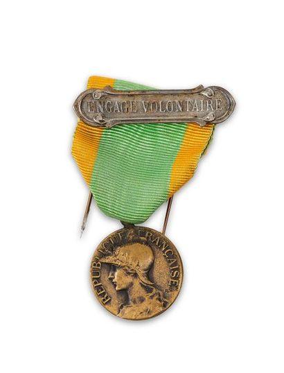 Médaille des Engagés volontaires, avec son...