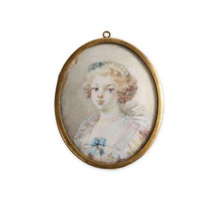 Marie-Anne FRAGONARD (1745-1823), attribué...