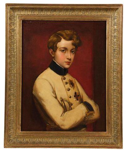 Paul HAGELSTEIN (1825-1868), d'après Moritz...