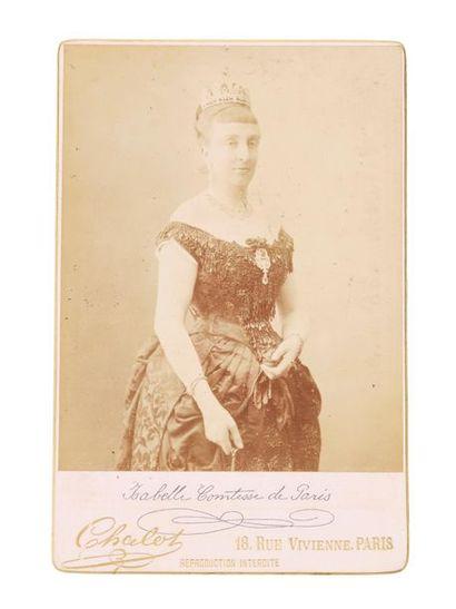 Comtesse de Paris Portrait photographique...