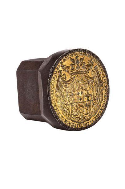 Famille Pignatelli Rare et important sceau...
