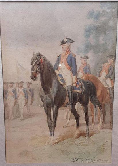 Félix Henri Emmanuel PHILIPPOTEAUX (1815-1884)....