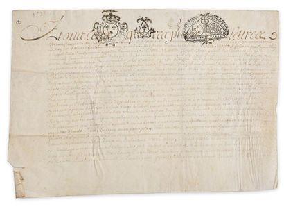 Seine et Marne. Acte juridique manuscrit...