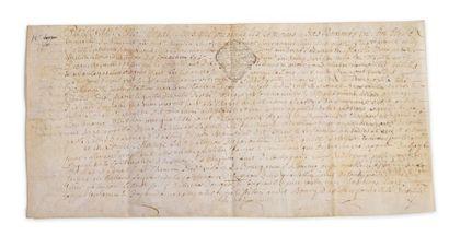 Acte notarial concernant les Sieurs Léonard Patyron, marchand à Augères, et Léonard...
