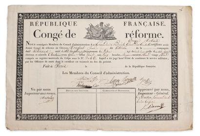 Louis Nicolas Davout (1770-1823). Congé de...
