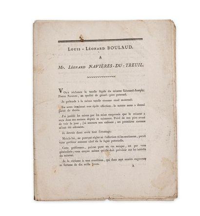 Droit civil. Intéressant recueil de 14 pages...