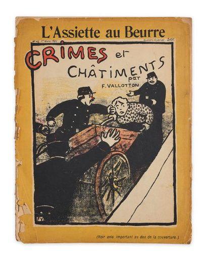 VALLOTTON Félix (1865-1925). L'Assiette au...