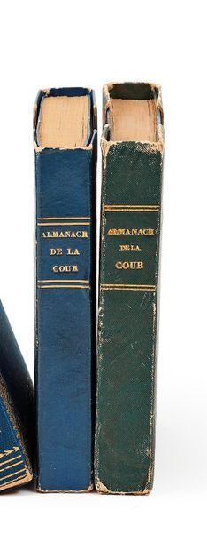 Lot de 2 almanachs,