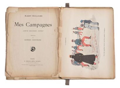Albert Guillaume, Mes campagnes. Album militaire...