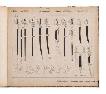 BOTTET Maurice. Monographies de l'arme blanche...