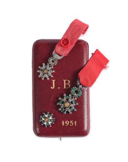 Ordre de la Légion d'honneur. Lot de 3 croix...