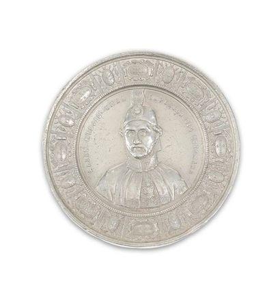 Guerre de Crimée. Rare médaille en argent...