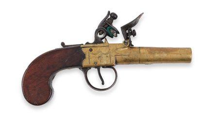 Pistolet, à coffre, à silex, à balle forcée,...