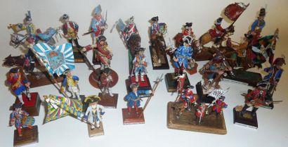 France, Ancien Régime : 25 figurines. France,...