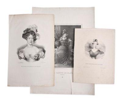 Marie-Caroline de Bourbon-Siciles, duchesse...