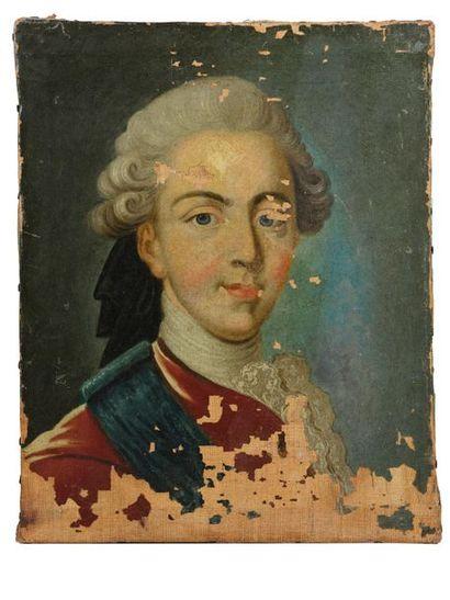 VAN LOO Louis-Michel (1707-1771), d'après. Portrait du Duc de Berry, futur Louis...