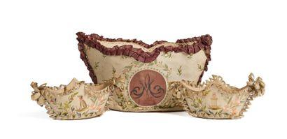 Marie-Antoinette, reine de France. Rare ensemble...
