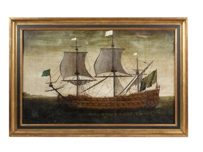 Henri Sbonski de Passebon (1637-1691?), attribue? a?. Le Royal Louis ou le Soleil...