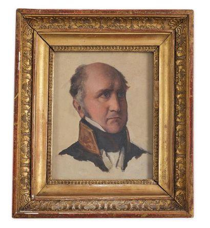 École française du milieu du XIXe siècle. Portrait de Louis Decazes, 2e duc Decazes...